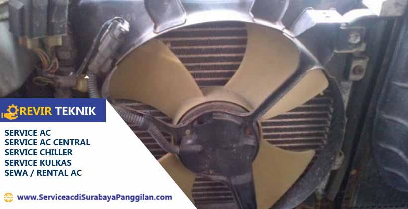 Bersihkan fan indoor