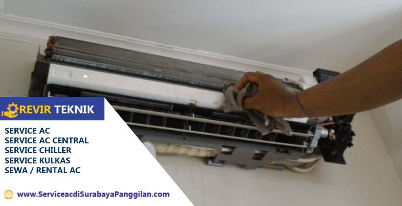 Bersihkan indoor pada bagian evaporator