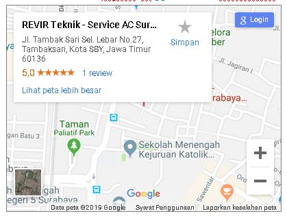 lokasi alamat revir teknik surabaya_gt